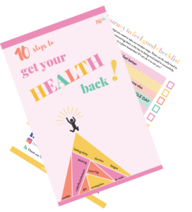 10 Steps To Get Your Health Back