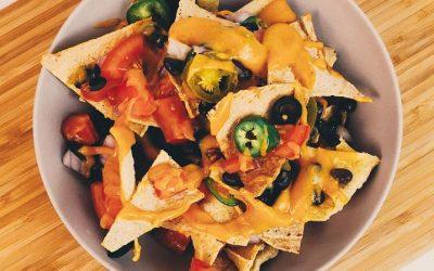 Vegan Nachos – Plant-based + Gluten-free + Oil-free